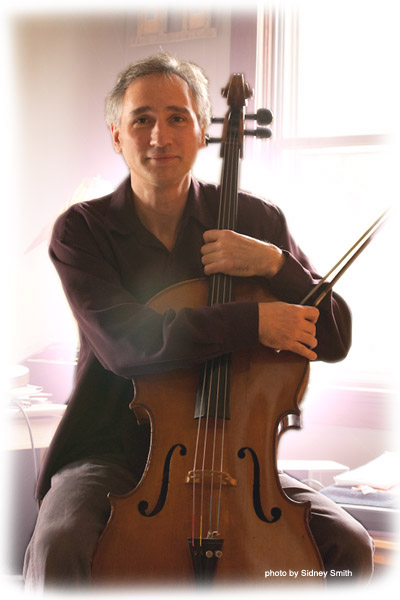 Gideon Freudmann, a cello innovator, has created his own style of music called CelloBop - a fusion of blues, jazz, folk and much more.