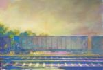 Coal-Car-2-2012-Acrylic-and-Distemper-on-Canvas-18x24