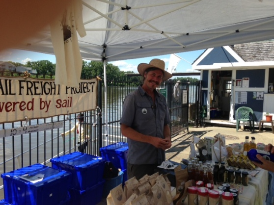 Vermont Farmer's Market Sails To Troy