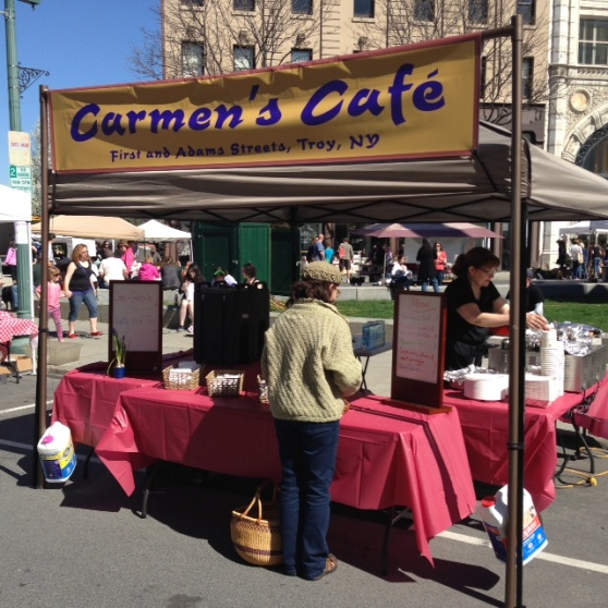 Carmen's Cafe at Troy Farmers Market